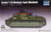 Soviet T-28 Medium Tank (Welded), 1:72 (pidemmällä toimitusajalla)