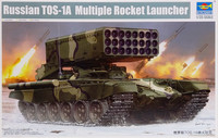 Russian TOS-1A Multiple Rocket Launcher, 1:35
