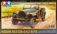 Russian Field Car GAZ 67B, 1:48