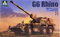 G6 Rhino SANDF Self-Propelled Howitzer, 1:35