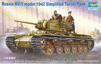 Russian KV-1 Model 1942 Simplified Turret, 1:35