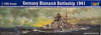 German Bismarck Battleship 1941, 1:700 (pidemmällä toimitusajalla)