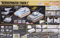 Bergepanzer Tiger I mit Borgward IV Ausf.A Heavy Demolition Charge Vehicle, 1:35