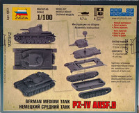 German Medium Tank Pz.Kpfw.IV Ausf. D, 1:100