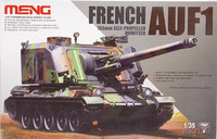 French 155mm Self-Propelled Howitzer AUF1, 1:35