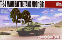 T-64 Main Battle Tank Mod 1981, 1:72