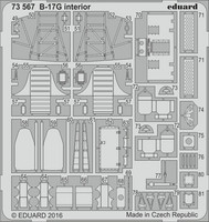 B-17G Cockpit Interior (for Airfix), 1:72