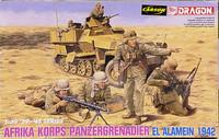 Afrika Korps Panzergrenadier El Alamein 1942, 1:35 (pidemmällä toimitusajalla)