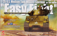 U.S. Medium Tank M4A3E8 Sherman Easy Eight, 1:35