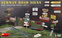 German Road Signs WWII Eastern Front Set 1, 1:35