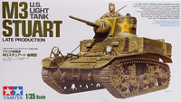 U.S. Light Tank M3 Stuart Late Production, 1:35