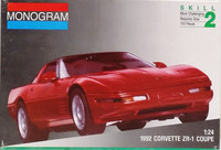 Corvette ZR-1 Coupe '92, 1:24