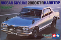 Nissan Skyline 2000 GT-R Hard Top, 1:24