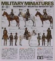 Wehrmacht mounted Infantry Set, 1:35