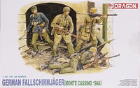 German Fallschirmjäger (Monte Cassino 1944), 1:35