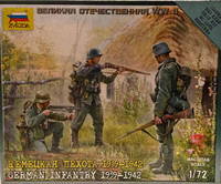 German Infantry 1939-1942, 1:72