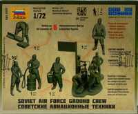 Soviet Air Force Ground Crew, 1:72