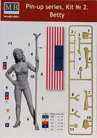 Pin-up Series Kit No 2, 1:35