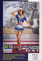 Pin-up Series Kit No 4, 1:24
