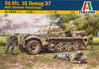 Sd.Kfz.10 Demag D7 with German Paratroops, 1:35