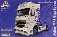Mercedes-Benz Actros MP4 Giga Space, 1:24
