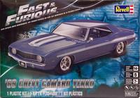 Chevrolet Camaro Yenko '69 (Fast & Furious), 1:25 (pidemmällä toimitusajalla)