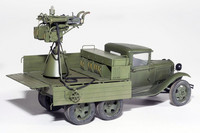 GAZ-AAA with Quad M4 MAXIM, 1:35