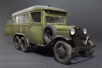 GAZ-05-193 Staff Bus, 1:35