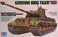 German King Tiger Porsche Turret, 1:35