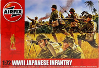 WWII Japanese Infantry, 1:72