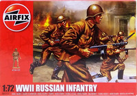 WWII Russian Infantry, 1:72