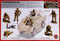 British Forces Vehicle Crew, 1:48
