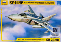 Russian Reconnaissance Aircraft SU-24MR, 1:72
