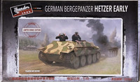 German Bergepanzer Hetzer Early (Limited Bonus Edition), 1:35