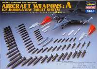 Aircraft Weapons A (U.S. Bombs & Tow Target System), 1:48