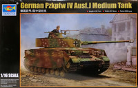 German Pz.Kpfw. IV Ausf. J Medium Tank, 1:16
