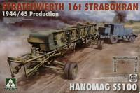 Stratenwerth 16t Strabokran & Hanomag SS100, 1:35