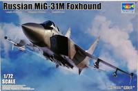 Russian MiG-31M Foxhound, 1:72