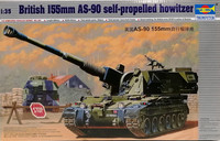 British 155mm AS-90 Self-Propelled Howitzer, 1:35