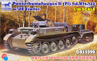 Panzerkampfwagen II (FI) with UE Trailer, 1:35