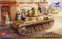 French Hotchkiss Light Tank H38/39, 1:35