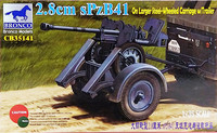 2.8cm sPzB41 On Larger Steel-Wheeled Carriage with Trailer, 1:35