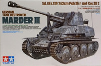 German Tank Destroyer Marder III, 1:35
