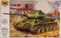 Soviet Medium Tank T-34/85, 1:72 (pidemmällä toimitusajalla)