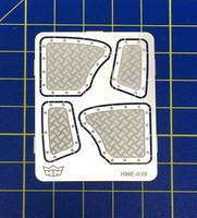 Aluminium Rear Panels, 1:24/1:25