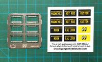 MOONEYES License Plate Frames, 1:24/1:25