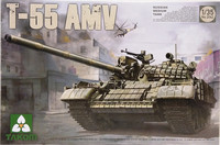 Russian Medium Tank T-55 AMV, 1:35