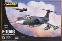 F-104G Luftwaffe Starfighter, 1:48 (pidemmällä toimitusajalla)