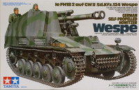 German Self-Propelled Howitzer Wespe 1:35