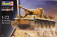 Pz.Kpfw VI Ausf.H Tiger, 1:72 (pidemmällä toimitusajalla)